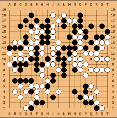 第4局 セドル AlphaGo