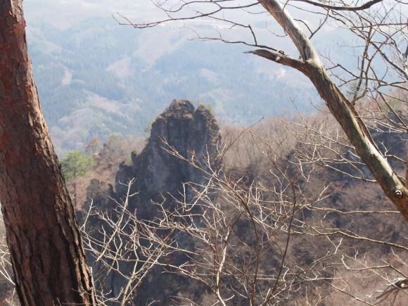 岩櫃城 登山景色