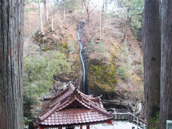 榛名神社 獅子の滝