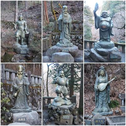 榛名神社 七福神