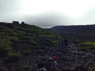 富士登山 景色