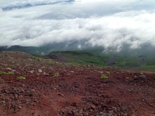 富士登山 下山
