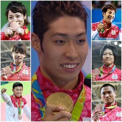 リオ 日本人 メダル