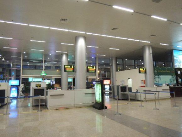ダナン空港 入国