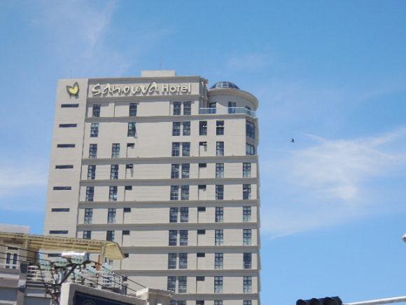サヌバダナンホテル 3つ星
