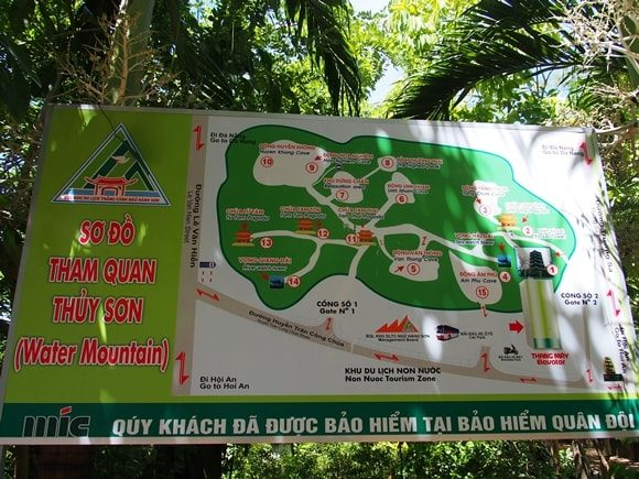 五行山 マップ 地図