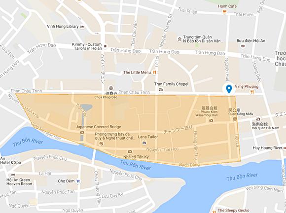 ホイアン 旧市街エリア