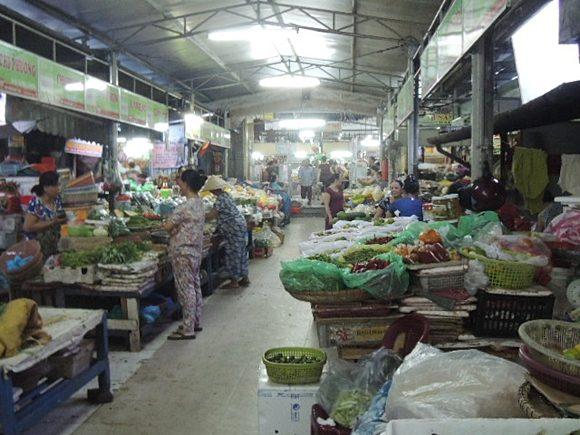 ハン市場 魚 野菜