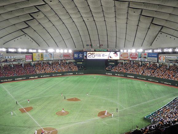 東京ドーム 座席 中央2F