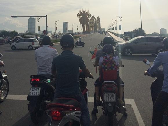 ダナン市内観光の移動手段におすすめ♪レンタル自転車で一回りw