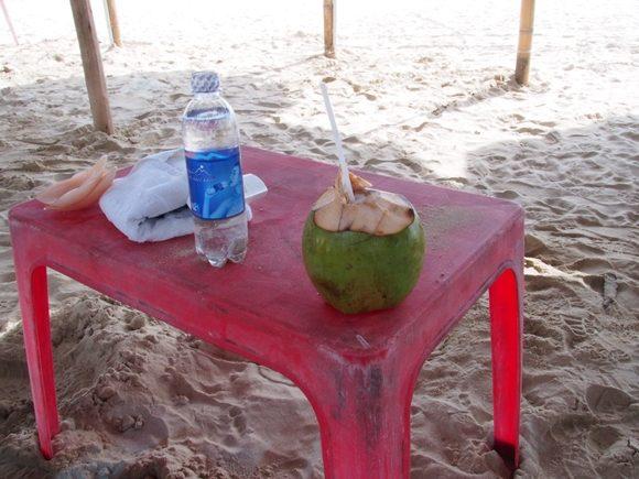 ミーケービーチ ココナッツ