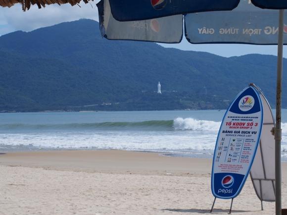 ダナンの人気観光スポット 早朝ミーケービーチの口コミ