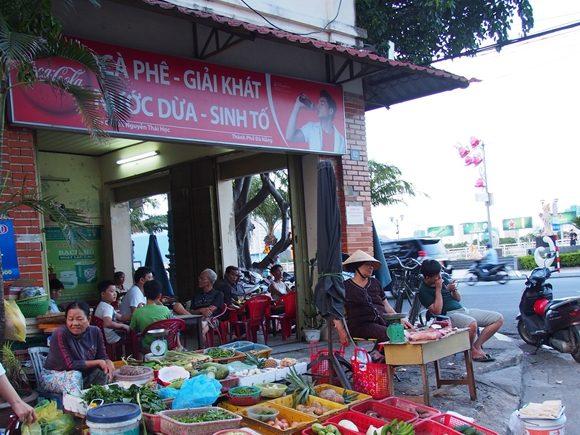 ベトナム 露店